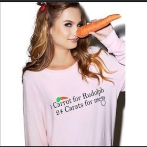 WILDFOX 2 carrots for Rudolph and 24 carats for me